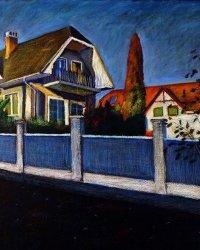 Kék kerítés